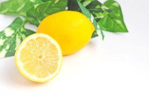 免疫を上げるレモン