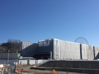 IKEA名古屋 建設現場