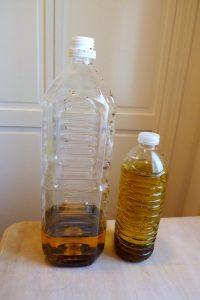 キッチンの排水口の詰まりを直す 廃油の回収