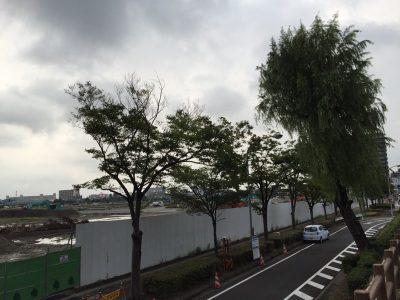 ららぽーと名古屋 建設現場