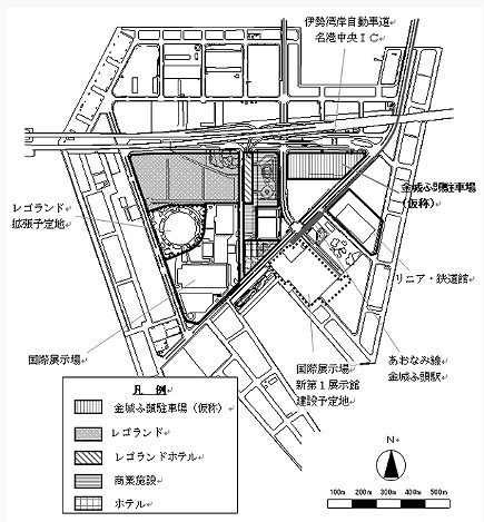 レゴランドホテル名古屋 建設予定地