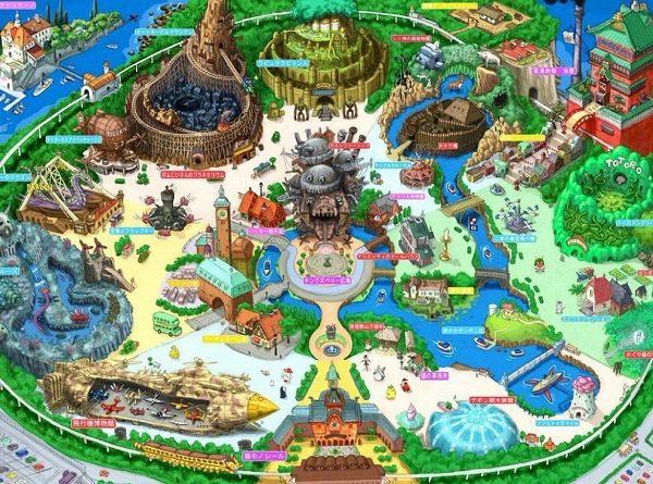 ジブリパークとは?愛知で2022年開業へ!完成予想図