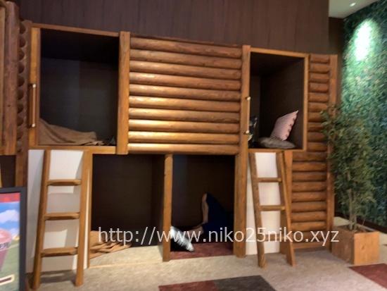 竜泉寺の湯守山店岩盤浴のベッド