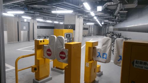 JPタワー名古屋駐輪場の駐車料金