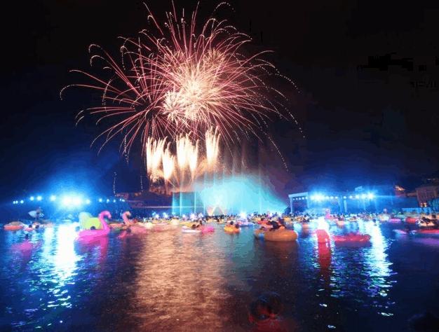 ラグーナテンボス ラグナシアの花火ショー
