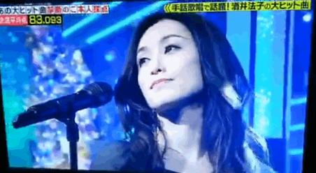 【動画】酒井法子カラオケバトルで地上波復帰!碧いうさぎで出した点数は?劣化してる?