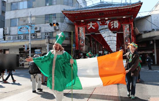 アイルランドフェスティバル2020名古屋がコロナウイルスで中止!(セントパトリックスデーパレード)