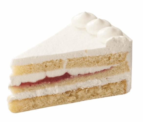 乳と卵と小麦粉を使用していないショートケーキ