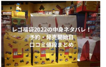 レゴ福袋2022の中身ネタバレ!予約・発売開始日や口コミ値段まとめ