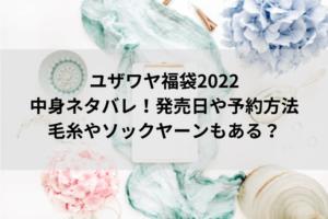 ユザワヤ福袋2022中身ネタバレ!発売日や予約方法・毛糸やソックヤーンもある?