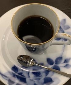 日本橋高島屋文庫カフェ「黒澤文庫」のコーヒー