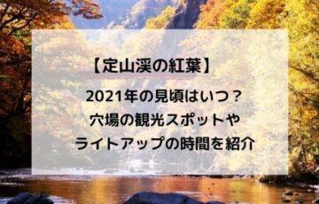 定山渓の紅葉2021の見頃はいつ?穴場の観光スポットやライトアップの時間を紹介