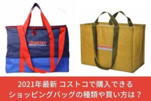 2021年最新 コストコで購入できるショッピングバッグの種類や買い方は?