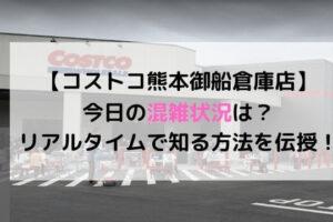 コストコ熊本御船倉庫店の今日の混雑状況は?リアルタイムで知る方法を伝授!
